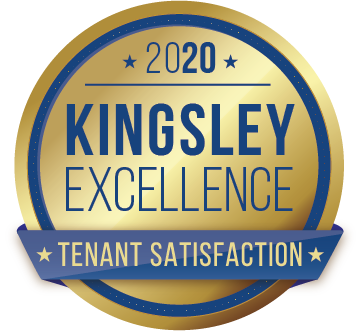 Kingsley Tenant Satisfaction Emblem