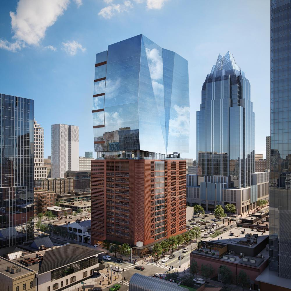 Rendering of 405 Colorado Austin